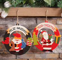 Foreign trade fine Christmas decorations Swing Santa Claus, Christmas hang hang act the role of door window