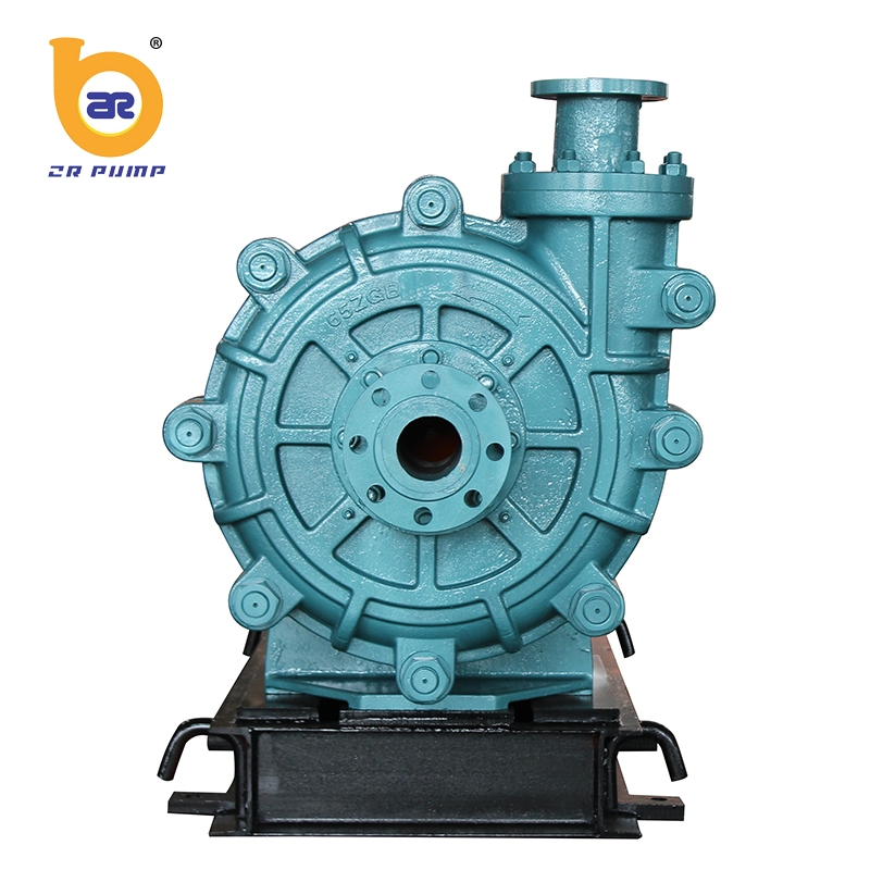 strong abrasive heavy duty impeller coal vertical slurry pump 6 inch