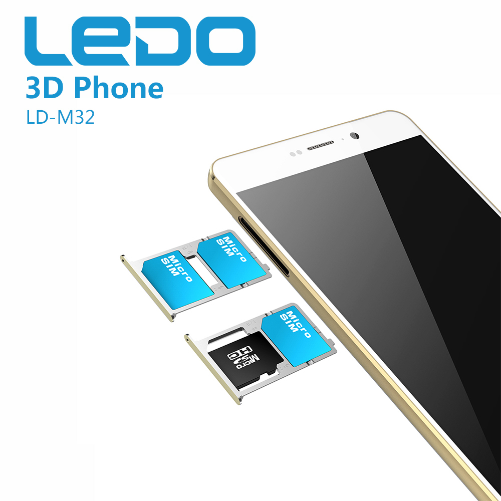 5.5 inch mtk6735 quad core android mobile phone 4g with 3D function