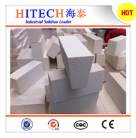 fireproof Zibo Hitech fused JM series insulation brick for ceramic kilns