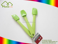 Hot sale mini kitchen utensils colorful silicone spatula set