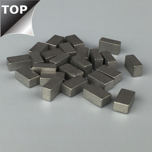 cobalt alloy rectangle saw tips used on circular saw blade