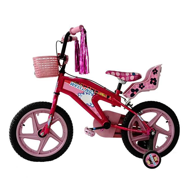 2016 hot sale kids toy bike baby cycles for 7 years old children kids bicycle with back seat