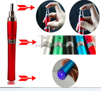 Top sales most popular electronic cigarette herbal vaporizer pen e cigarette for tobacco