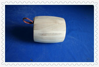 2014 high quality new design unfinished decorative small wooden barrel