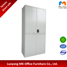 Cheap metal 2 sliding door file cupboard steel filing cabinet