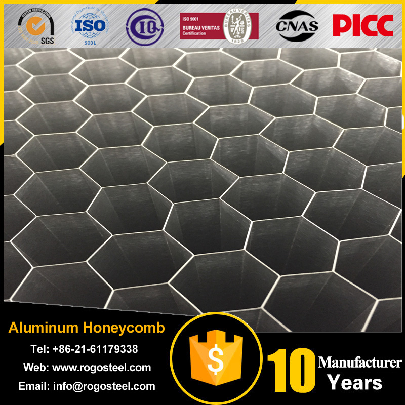 side length 0.4mm-20mm perforated aluminum honeycomb panel with A3003/A5052/A1100