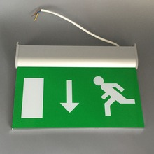 Double Side Rechargeable LED Emergency Exit Sign