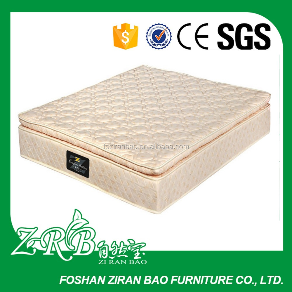 12 Inch Luxury Pillow Top Memory Foam Mattress with Aloe Vera Cover -ZRB 160