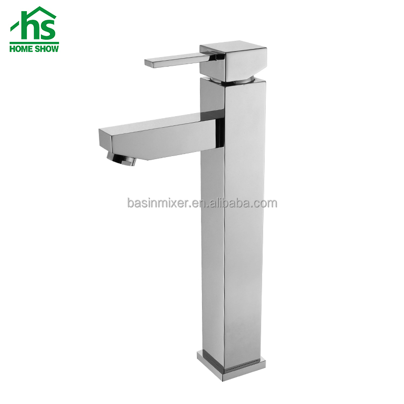 Chrome Plating Brass Sink Faucet with Ceramic Cartridge