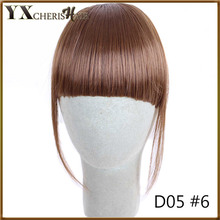 Front Neat Fringe Hair Extensions Invisible False Hair Bangs Hairpieces