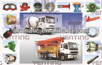 SPARE PARTS FOR CONCRETE TRUCK MIXER