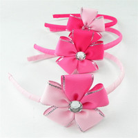 cheap elite cotton custom fashionable elastic headbands for ball gowns for children