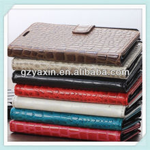 Newest Genuine Textured Crocodile Flip Leather Wallet Phone Case for Samsung Galaxy S3