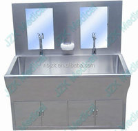 Automatic Hand Washing Stainless Steel Scrub Sink Station for hospital operating theatre