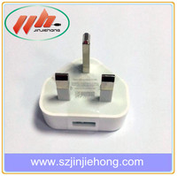 UK HK Plug Travel Wall Home Charger for iPhone