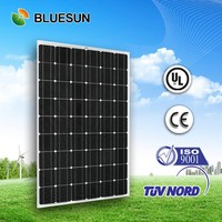 High efficiency 200w 210w 220w 27v mono solar pv panels/modules