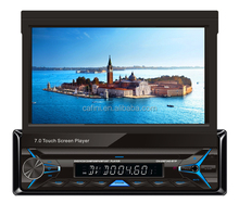 Single DIN car radio with Multi-media VCD CD Mp3 Mp4 player