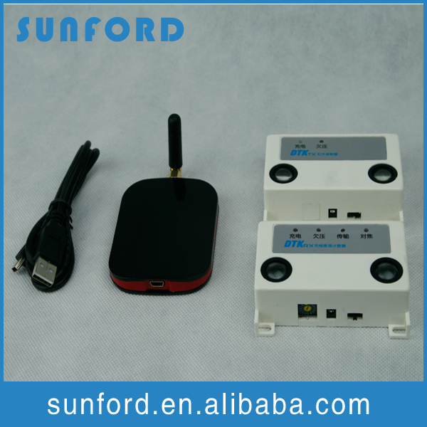 Store door infrared person counting customer people counting device wireless network people counter