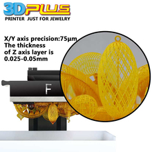 3D Plus Printer High Quality Jewellery Printing Machine Jewelry Tools and Equipment 3D printer 2017
