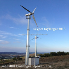 gerador eolico, electric variable pitch 30kw wind generators, 30kw wind turbine