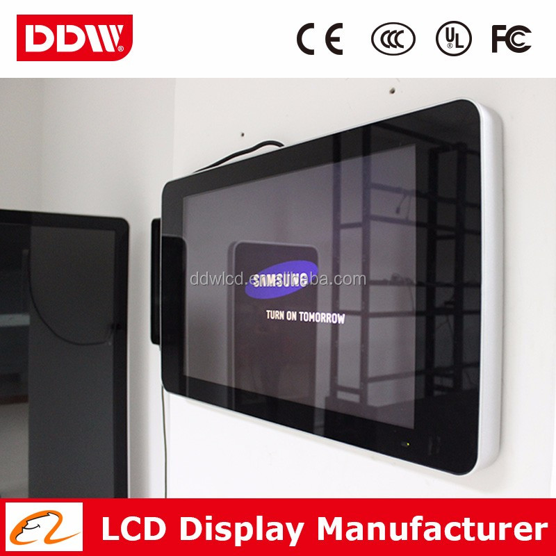 "LCd Advertising Display Screen/32"" Wall Mounted Digital Signage Player Usb"