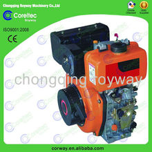 diesel engine 2.5HP-20HP Air-cooled single-cylinder,electric or recoil start 2 stroke go kart engines