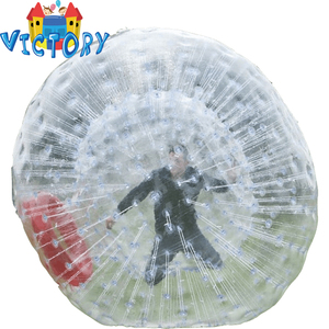 inflatables zorb ball and inflatables football zorb for commercial and sales