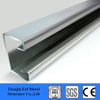 41x82 light gauge steel channel weight c channel solar panle bracket used lip channel steel