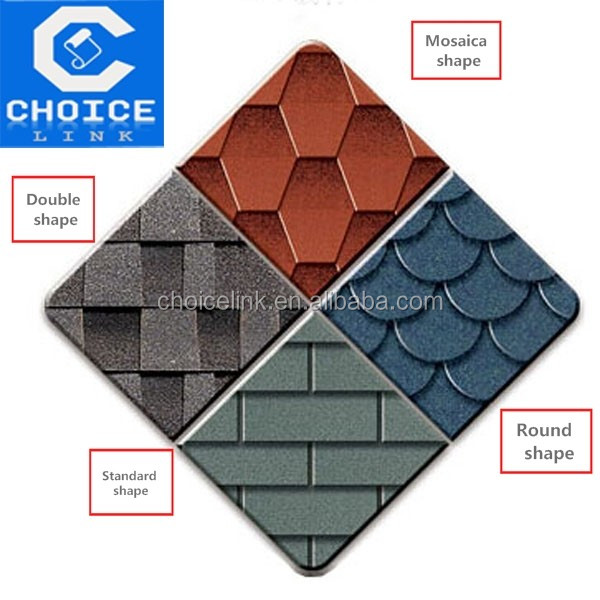 cheap roofing materials 3 tab Asphalt Shingles/tiles