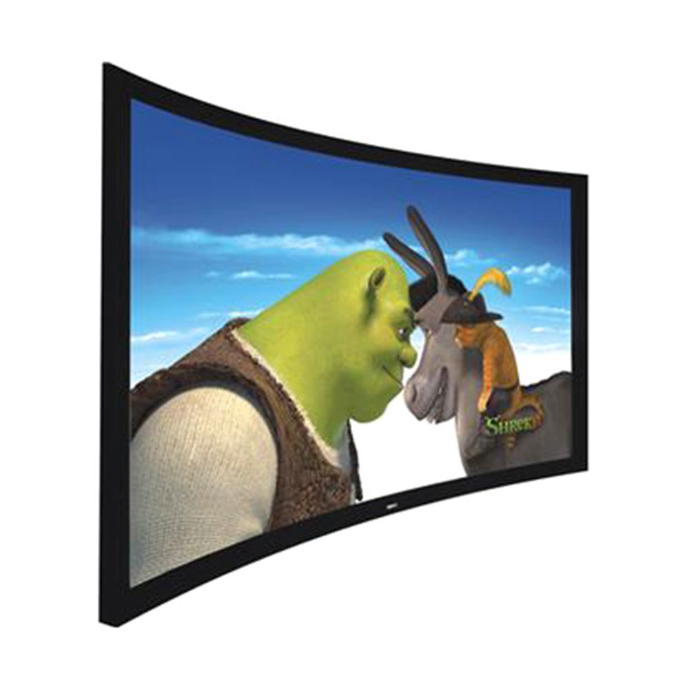 Professional Production ODM CE picture frame curved projector screen