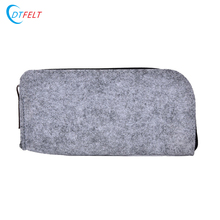Colored Printing Pen Bag Felt Pencil Case For Girl
