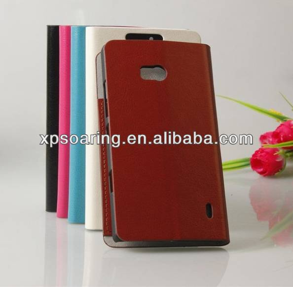 Fashion wallet leather case pouch cover for Nokia Lumia 929