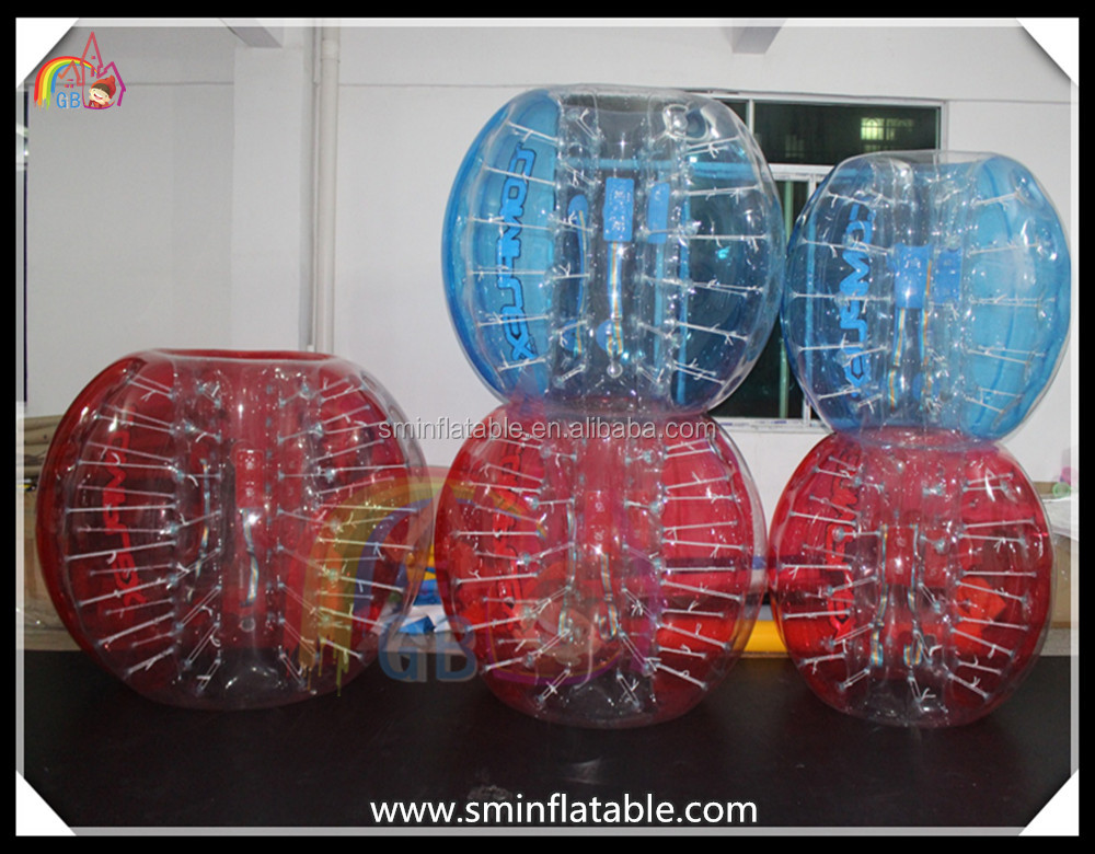 wholesale price TPU/PVC inflatable bubble football battle game football bubble ball