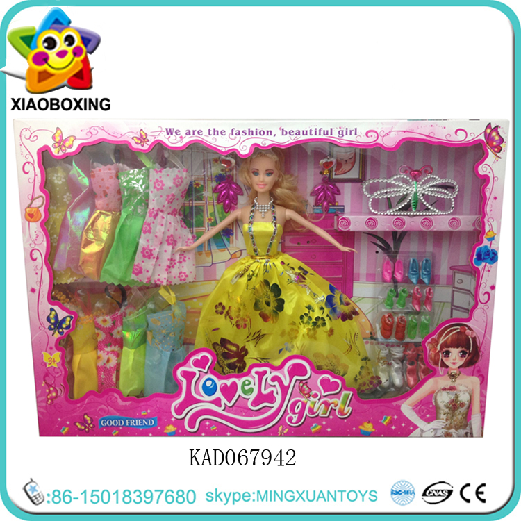 Yellow dress Princess Barbie <strong>Doll</strong>