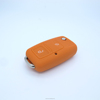 High Quality Silicone Car Key Cover for VW, custom design silicone key blank cover rubber material car key fob case