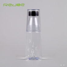 Reusable portable clear plastic drinking water bottles