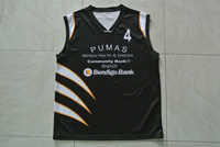 Sublimation printing cheap youth deign basketball uniform with team logo