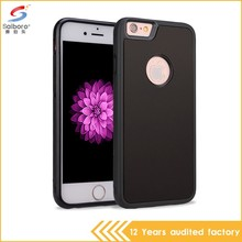 Oem welcome tpu + nano anti gravity for iphone 5 case sticky