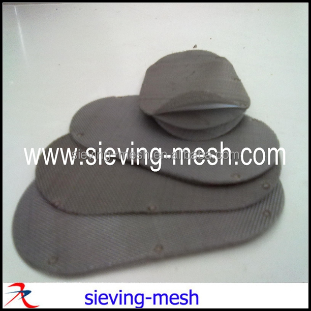 Plastic Extruder Screens, Spot Welding Multi Layer Extruder Filter Discs