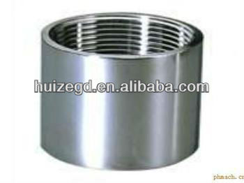 "A105 sw 1-1/4"" NPT female threaded coupling"