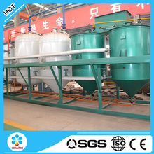 2TPD Good price First grade edible oil refinery with overseas installation