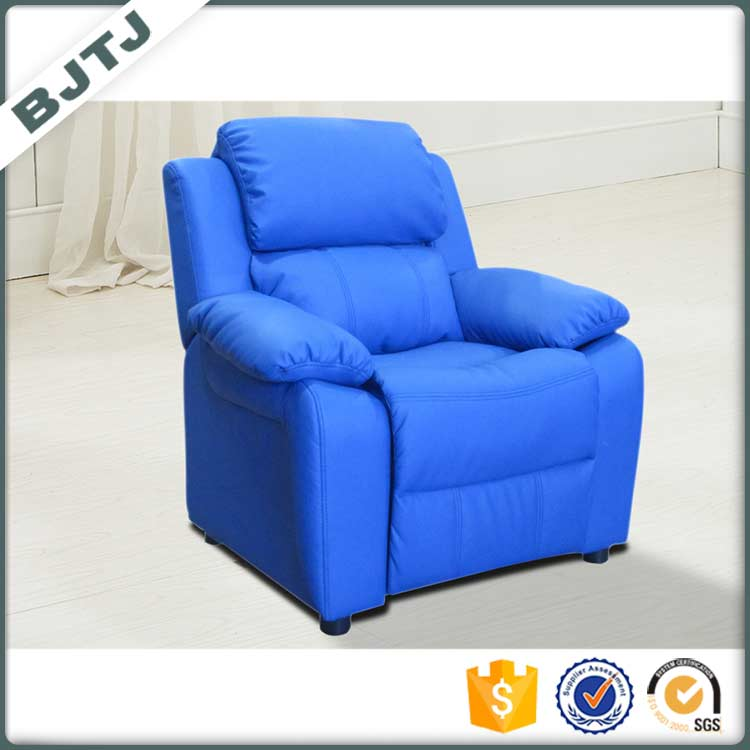 BTJT Multifunction recliner blue children hot sale small size sofa 7985