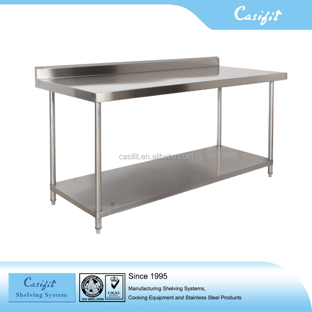 Commercial kitchen table/equipment filler table/stainless steel work table