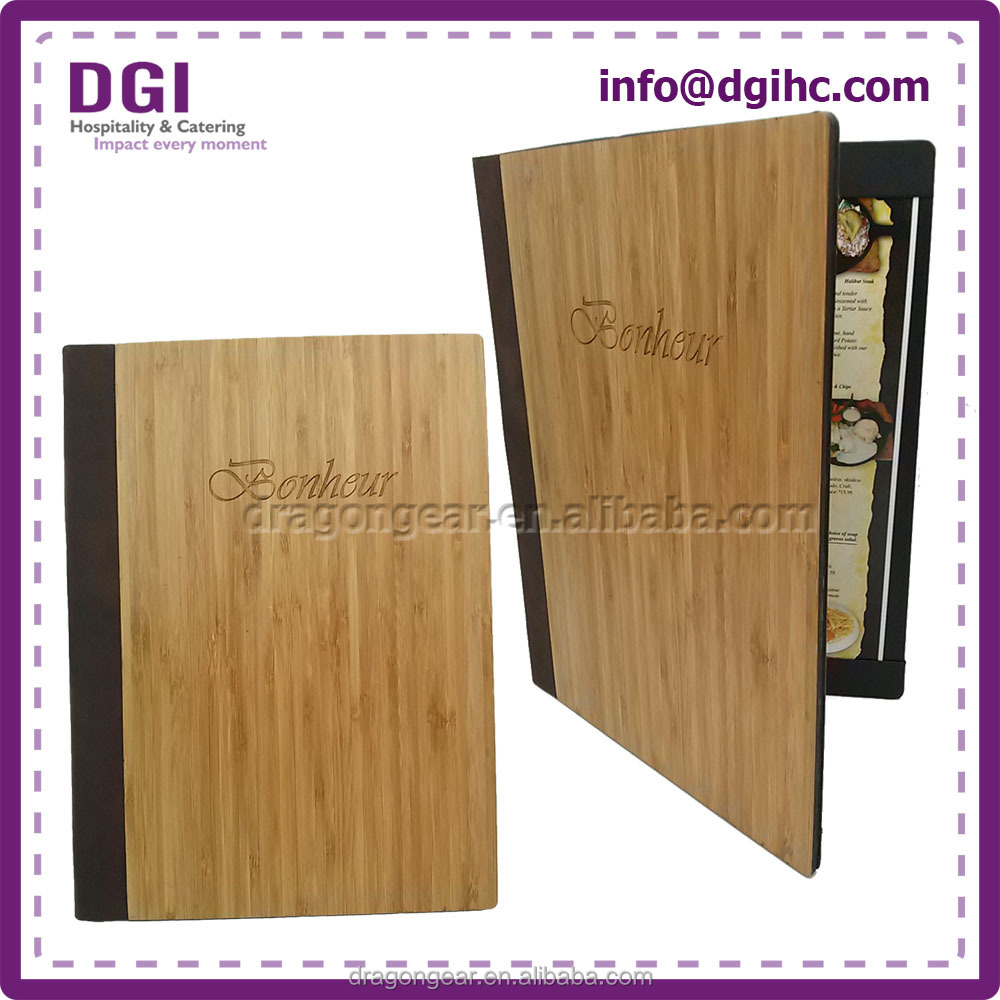 Wooden carrying case promotion holder