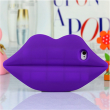 2015 Christmas Gift Cute 3D Sexy Lip Kiss Me Case Cover For IPhone 6s Sexy Mobile Phone Case