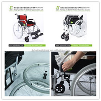 The price of manual wheelchair philippines factory in Nanjing