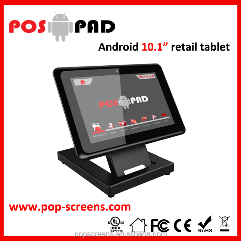POSPAD 10.1inch lcd advertising player PD101T-NT Android industrial computer digital signage player without touch
