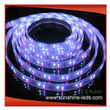 high lum 6-7lm/led smd 3528 motorcycle led strip lighting Silica gel tube