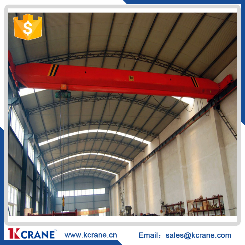 1-20ton factory overhead bridge crane bridge crane type ld electric single beam from kcrane